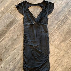 Free People Bodycon Backless Washed out Dress
